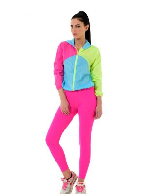 Bright Neon Color Leggings-roz4