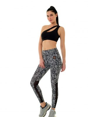 The Black And White Dry Fit Leggings4