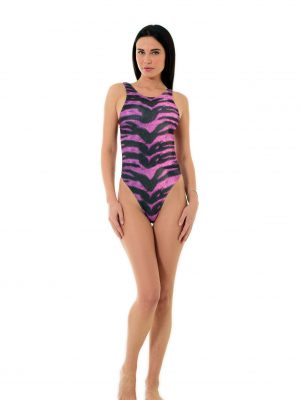 The Purple Tiger Monokini1