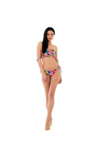 The Strappy Floral Bikini1