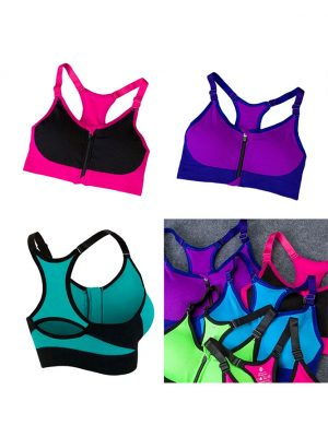 The Zipper Push Up Bra