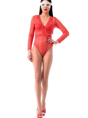 The Red Amazon Bodysuit4