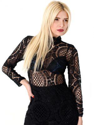 The Lace Mini Dress3