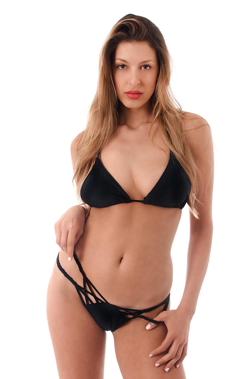 black bikini Door