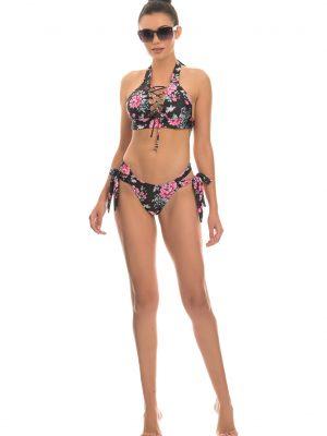 flowery bikini cover