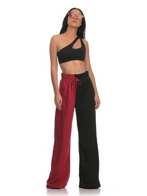 The Double Color Flare Pants